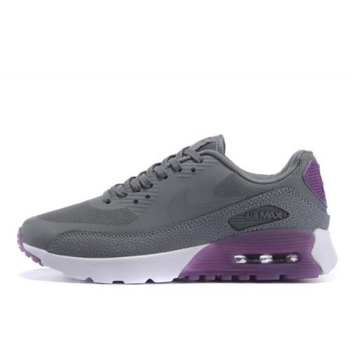 Nike Air Max 90 HyperLite Grey Purple женские кроссовки