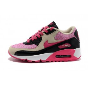 Nike Air Max 90 Pink Beige женские кроссовки