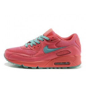 Nike Air Max 90 Pink Turquoise женские кроссовки