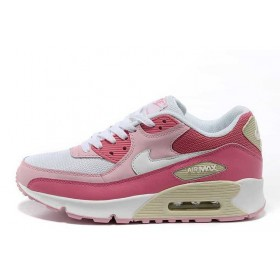Nike Air Max 90 Pink White женские кроссовки