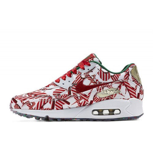 Nike Air Max 90 Premium Candy White женские кроссовки