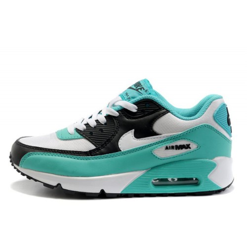 Nike Air Max 90 Turquoise White женские АирМаксы