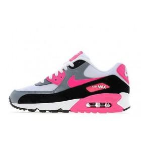 Nike Air Max 90 White Black женские кроссовки