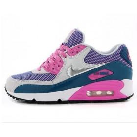 Nike Air Max 90 Pink Blue женские кроссовки