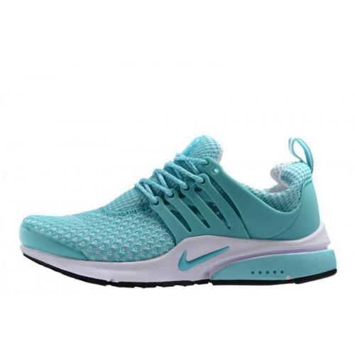 Nike Air Presto Flyknit Weaving Light Blue женские кроссовки для бега