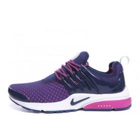 Nike Air Presto Flyknit Weaving Purple женские кроссовки для бега