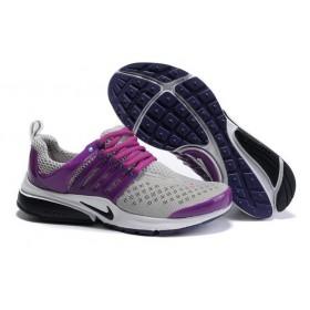 Nike Air Presto Purple Grey женские кроссовки для бега