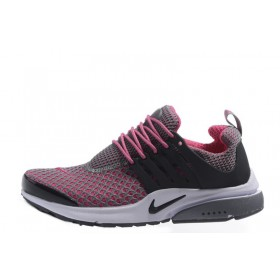Nike Air Presto TP QS Flyknit Grey Pink женские кроссовки для бега
