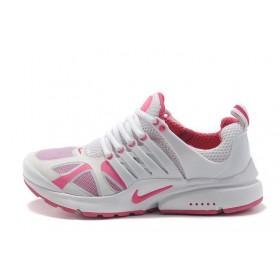 Nike Air Presto White Pink женские кроссовки для бега