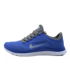 Nike Free Run 3.0 V5 Blue Grey женские кроссовки