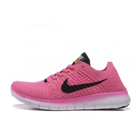 Nike Free Run Flyknit 5.0 Pink женские кроссовки для бега