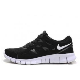 Nike Free Run Plus 2 Black женские кроссовки для бега
