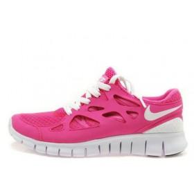 Nike Free Run Plus 2 Pink женские кроссовки для бега