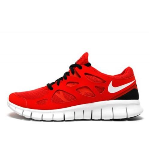 Nike Free Run Plus 2 Red женские кроссовки для бега