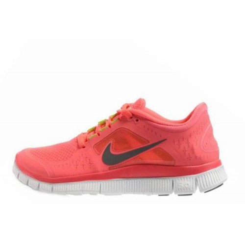 Nike Free Run Plus 3 Orange женские кроссовки для бега