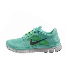 Nike Free Run Plus 3 Sea Blue женские кроссовки для бега
