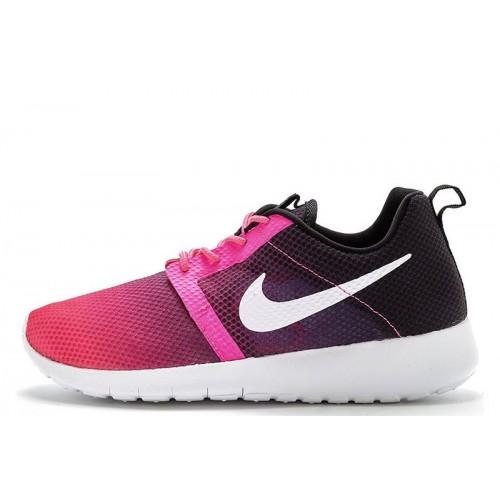 Nike Roshe Run II Pink Black женские кроссовки