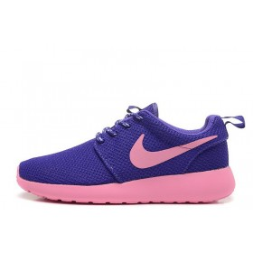 Nike Roshe Run II Lite Pink Purple женские кроссовки