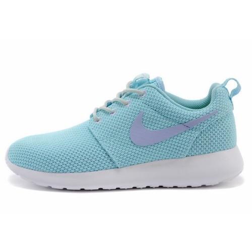Nike Roshe Run Blue женские кроссовки