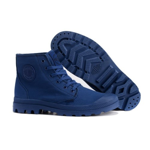 Palladium Pampa Hi Navy мужские ботинки