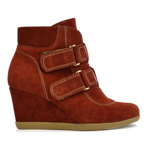 Ботинки женские Passo Avanti 4304 Red
