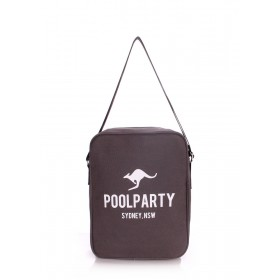 Текстильная сумка PoolParty Kangaroo Bag Grey