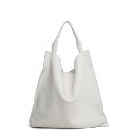 Кожаная сумка Pool Party Bohemia White