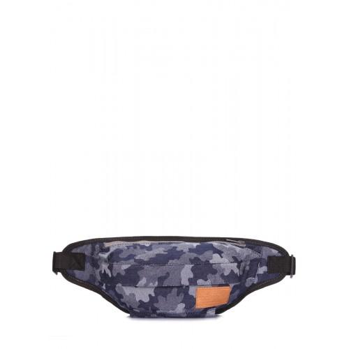 Джинсовая камуфляжная сумка на пояс Pool Party Bumbag Camouflage