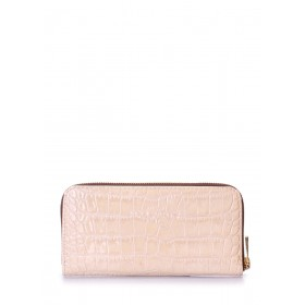 Женский кошелек Pool Party Croco Beige Wallet