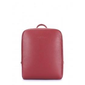 Кожаный женский рюкзак Pool Party Cult Leather Marsala