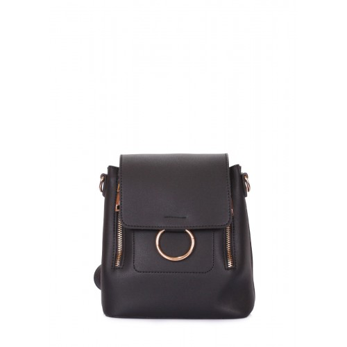 Женская сумка-рюкзак Pool Party Zipp Black