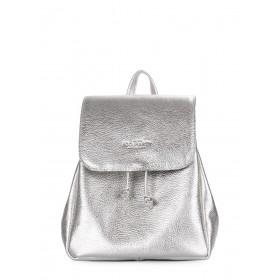 Кожаный рюкзак Pool Party Paris Silver