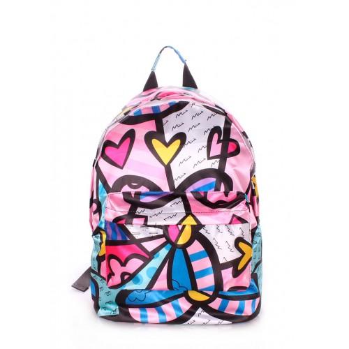 Рюкзак молодежный PoolParty Blossom Pink