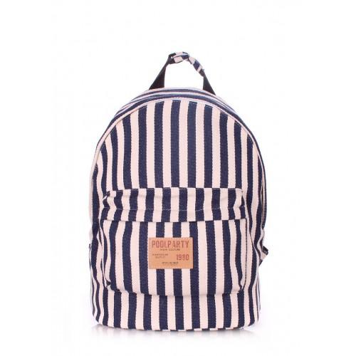 Рюкзак молодежный PoolParty Navy Blue