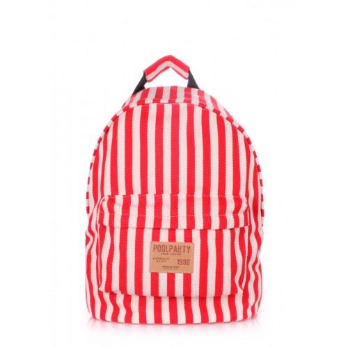 Рюкзак молодежный PoolParty Navy Red