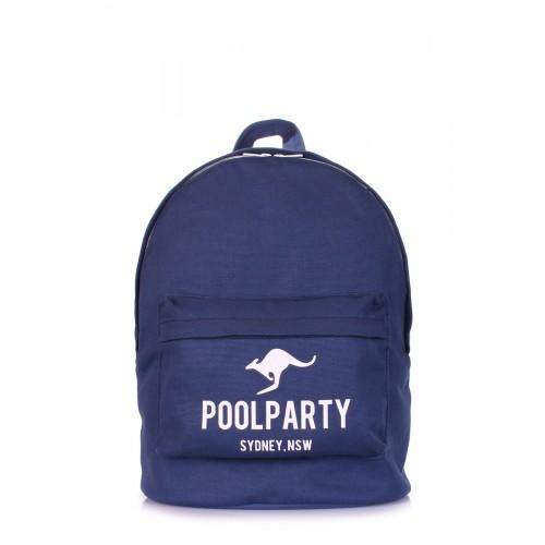 Рюкзак молодежный PoolParty Kangaroo Dark Blue