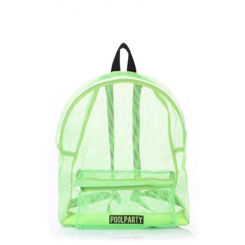 Рюкзак PoolParty Mesh Green