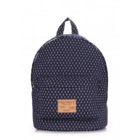 Рюкзак PoolParty Backpack Anchor Dark Blue