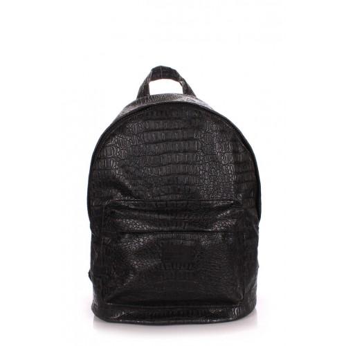 Рюкзак PoolParty Backpack Croco Black