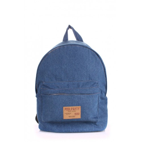 Рюкзак PoolParty Backpack Jeans Light