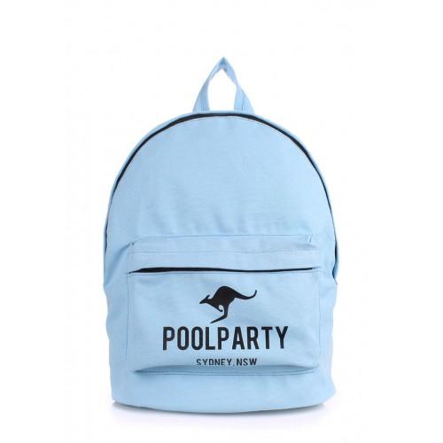 Рюкзак молодежный PoolParty Kangaroo Blue