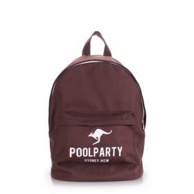 Рюкзак PoolParty Backpack Kangaroo Brown