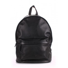 Рюкзак PoolParty Backpack Leather Black