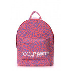 Рюкзак PoolParty Backpack Leo Pink
