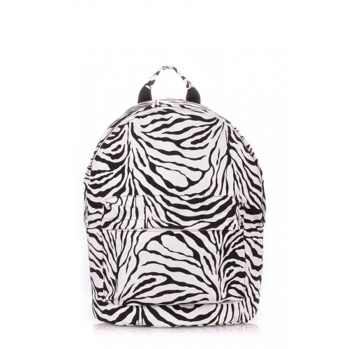 Рюкзак молодежный PoolParty Backpack Pu Zebra