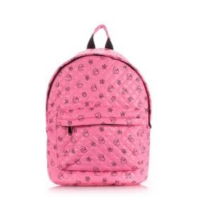 Рюкзак молодежный PoolParty Theone Pink Ducks