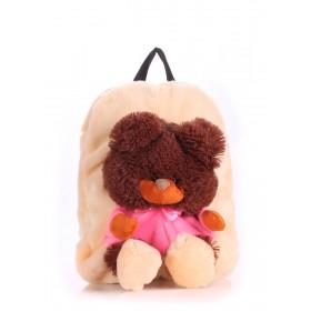 Рюкзак PoolParty Kiddy Teddybear Peach