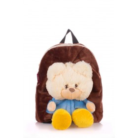 Детский рюкзак PoolParty Kiddy Brown