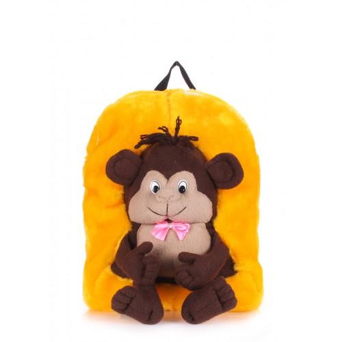 Детский рюкзак PoolParty Kiddy Monkey Sunny