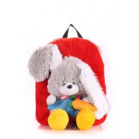 Рюкзак PoolParty Kiddy Rabbit Red